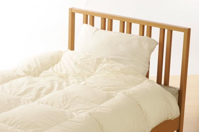 掛け布団とベッド